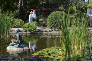 Margaret Island Budapest Japanese Garden Mermaid