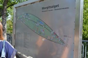 Margaret Island Budapest Map