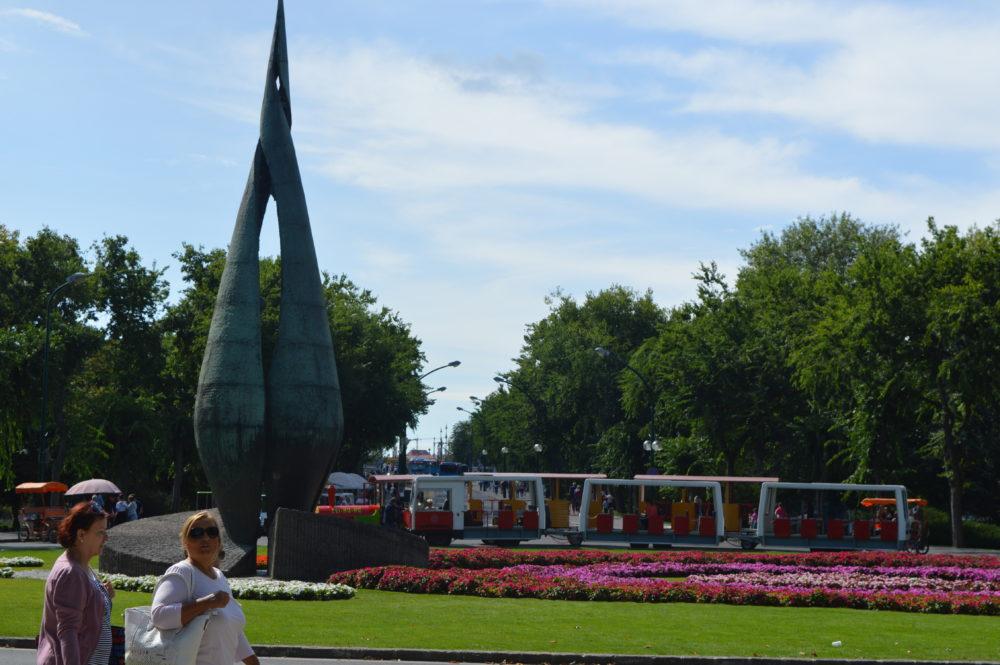 Margaret Island Budapest Centennial Memorial Summer