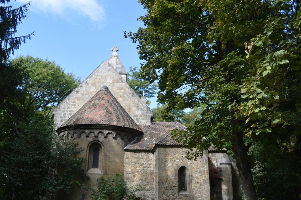 Margaret Island Budapest Premonstratensian Church back