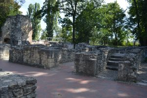 Margaret Island Budapest Ruins