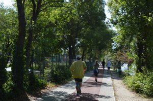 Margaret Island Budapest Running Track Runners