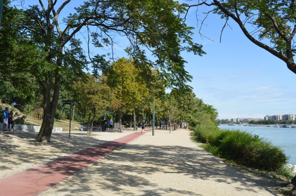 Margaret Island Budapest Running Track
