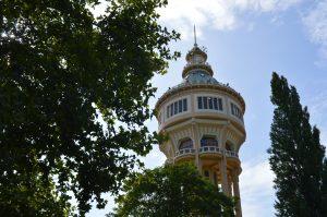 Margaret Island Budapest Water Tower Summer