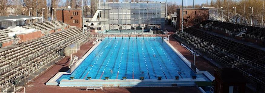 Hajos Alfred Swimming Complex Budapest Margaret Island