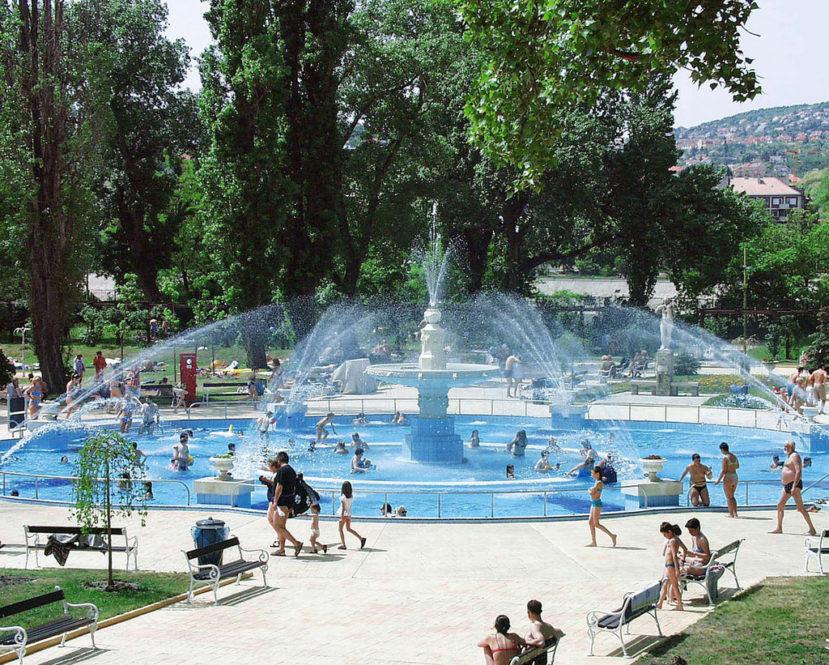 Palatinus Baths Budapest Margaret Island Lido