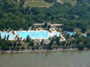Palatinus Thermal Baths and Lido Budapest Margaret Island Danube